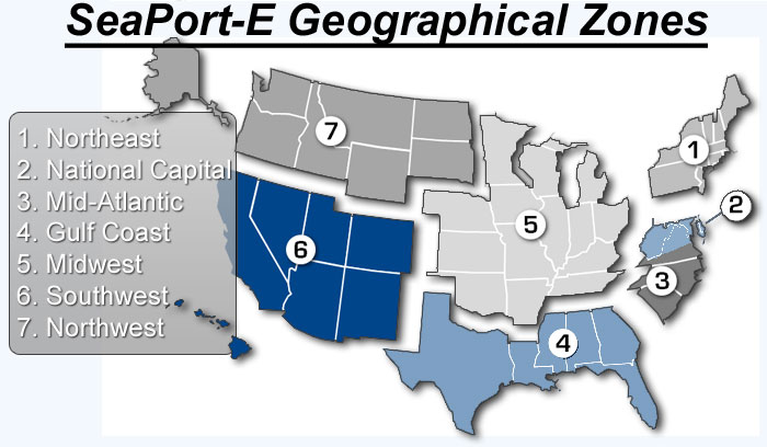 seaport Zones